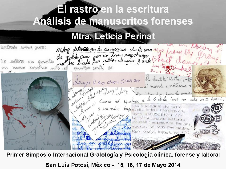 1 MANUSCRITOS FORENSES